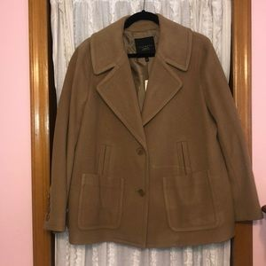 Talbots Wool short peacoat 18 WP